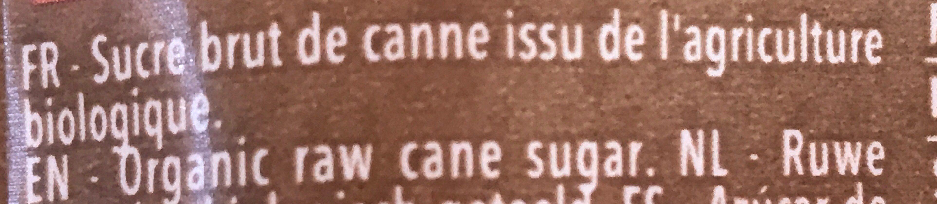 Sucre complet Muscovado - Ingredients - fr