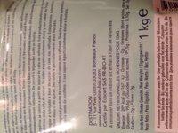 Sucre de canne - Ingrédients