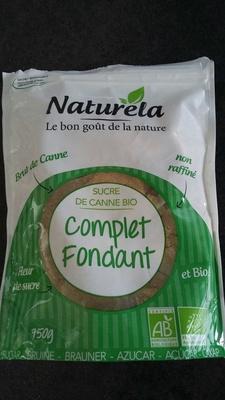 Sucre de canne bio complet fondant - Product - fr