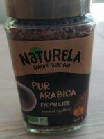 Café instantané bio 100% arabica - Voedingswaarden - fr