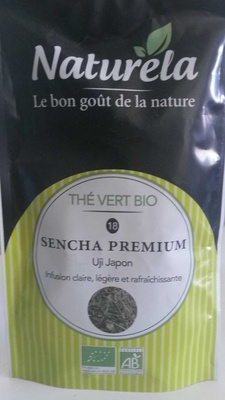 Thé vert bio, Sencha Premium, Uji Japon - Product - fr