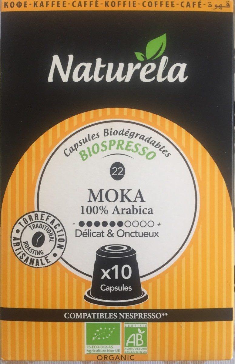 Capdules biospresso moka - Product - fr