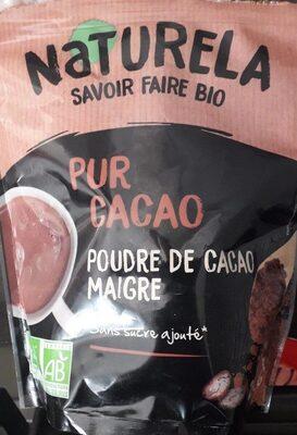 Poudre de cacao maigre - Produit - fr
