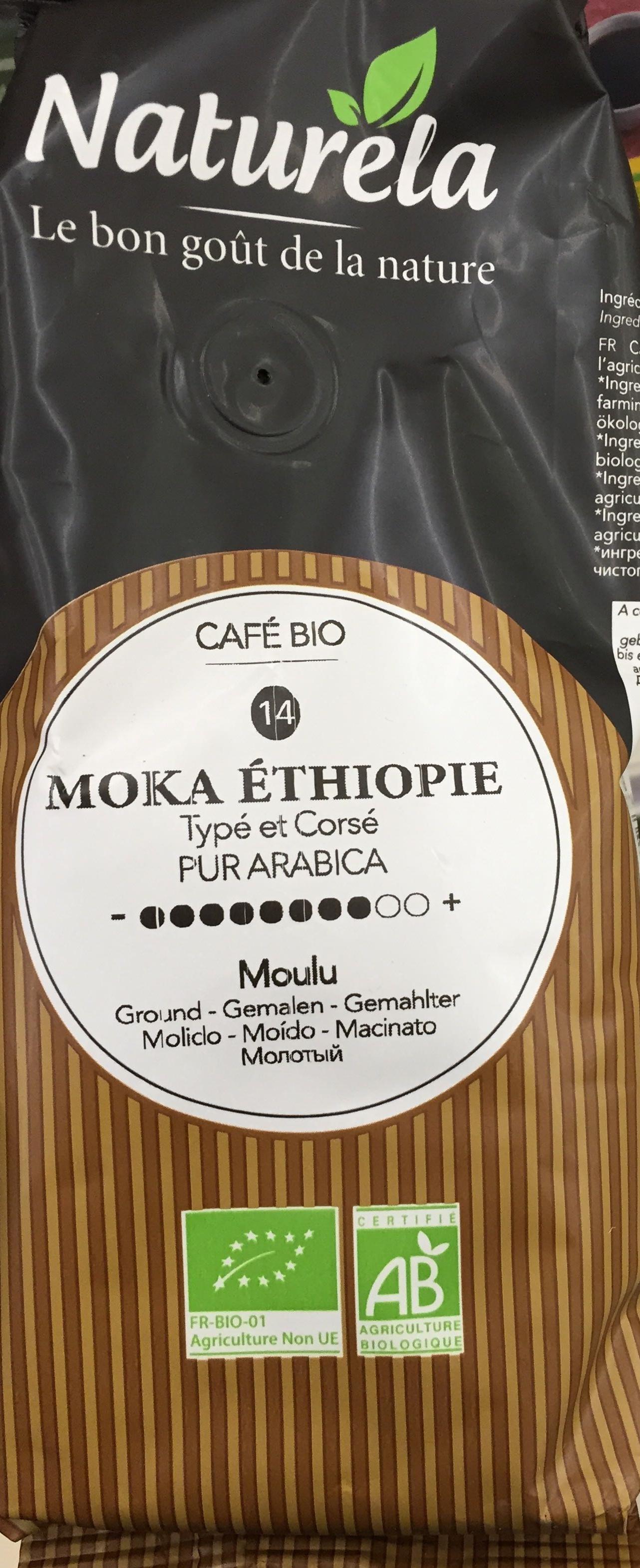 Moka Éthiopie moulu - Product - fr