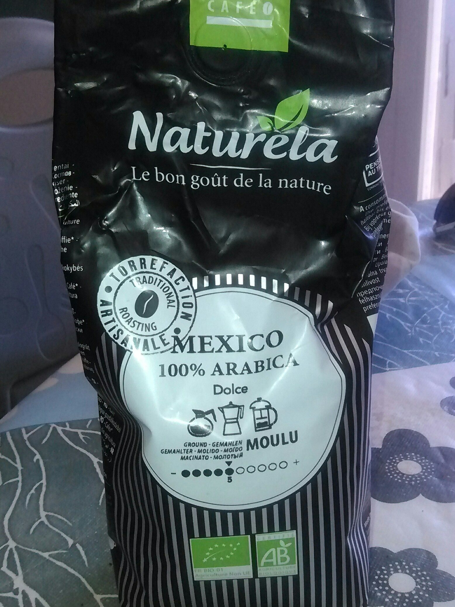 Café Mexique NATURELA sachet - Product - fr