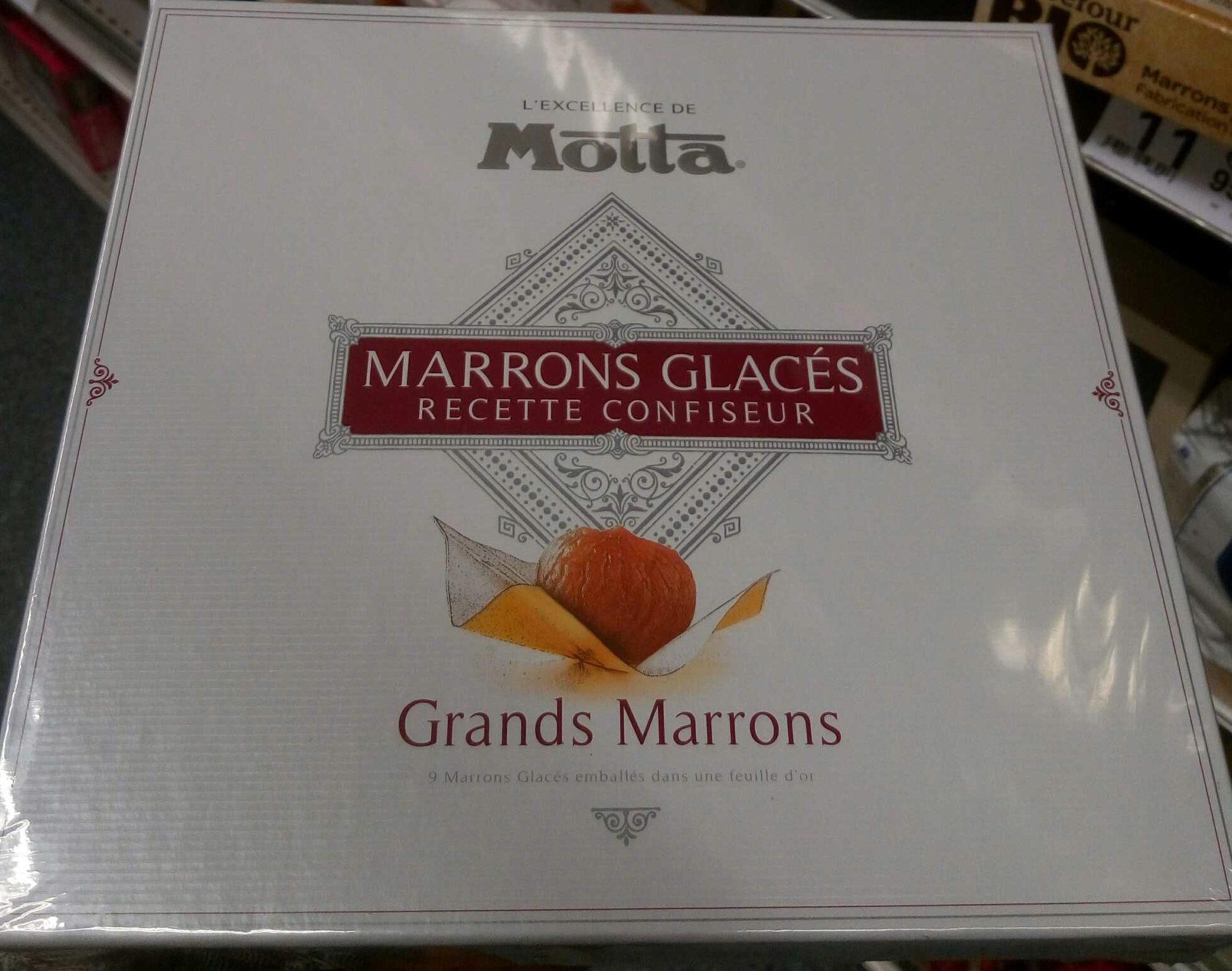 Marrons glacés recette confiseur - Produit