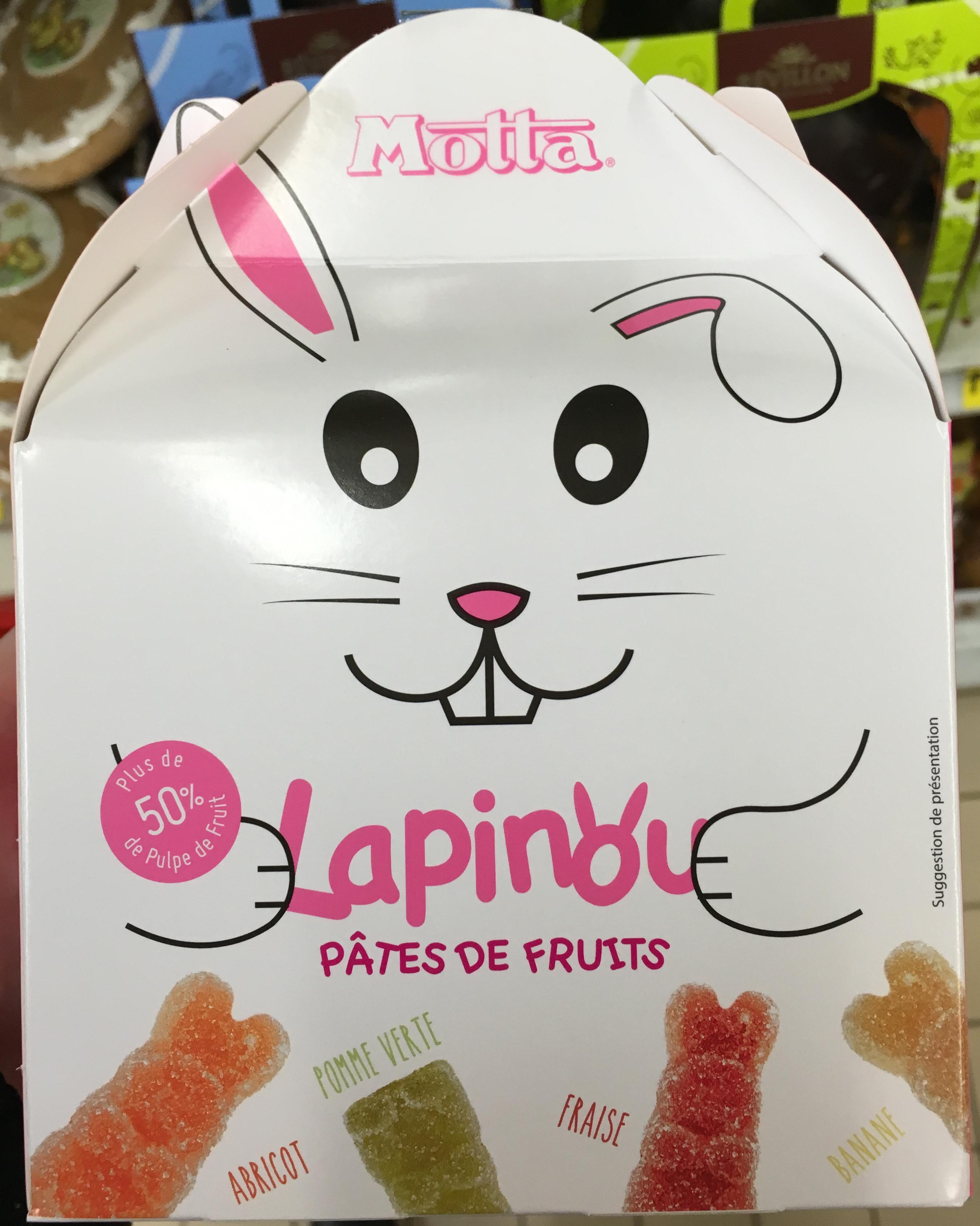 Lapinou Pâtes de Fruits - Product - fr