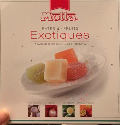 Pâtes de Fruits Exotiques - Produit