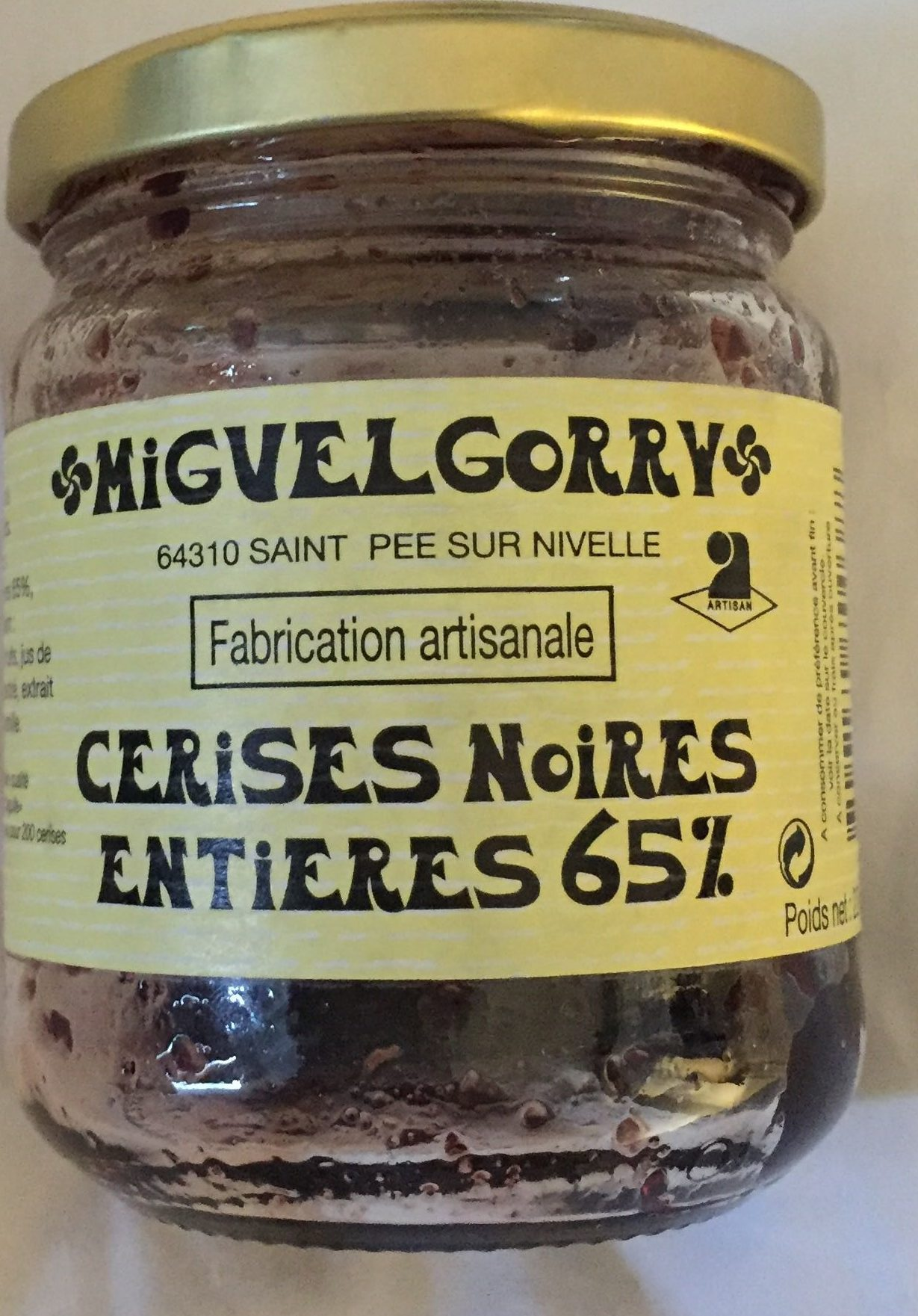 Confirure cerise noire - Product - fr