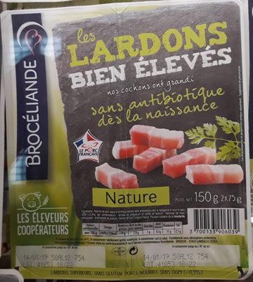 Les Lardons Bien Élevés Nature - Produit