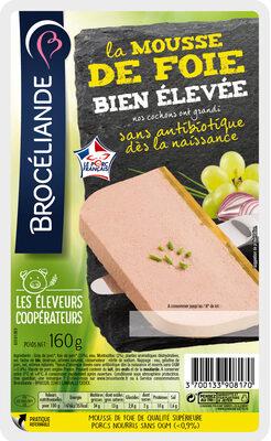 Mousse de foie Bien Elevee Broceliande - Produit - fr