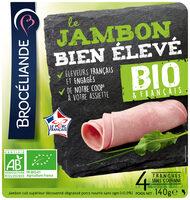 Jambon bio & français, Bien Élevé, Brocéliande - Produit - fr
