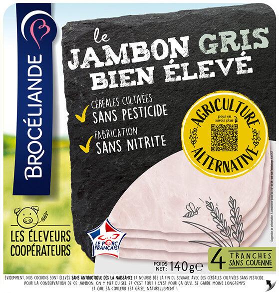 Le jambon gris Bien Élevé découenné dégraissé - Product - fr