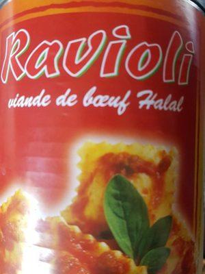 Ravioli viande boeuf halal - Produkt - fr