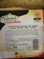 Cordon bleu de dinde Halal cuit - Product - fr