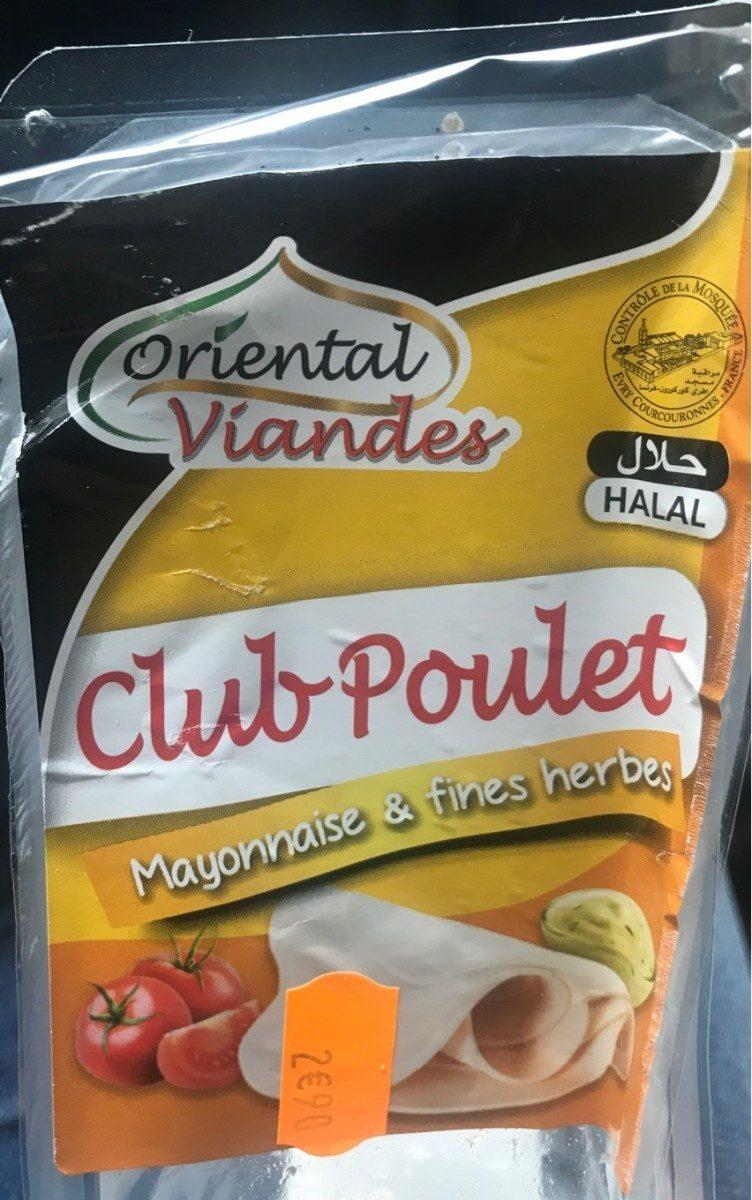 Club poulet mayonnaise & fines herbes - Produit - fr