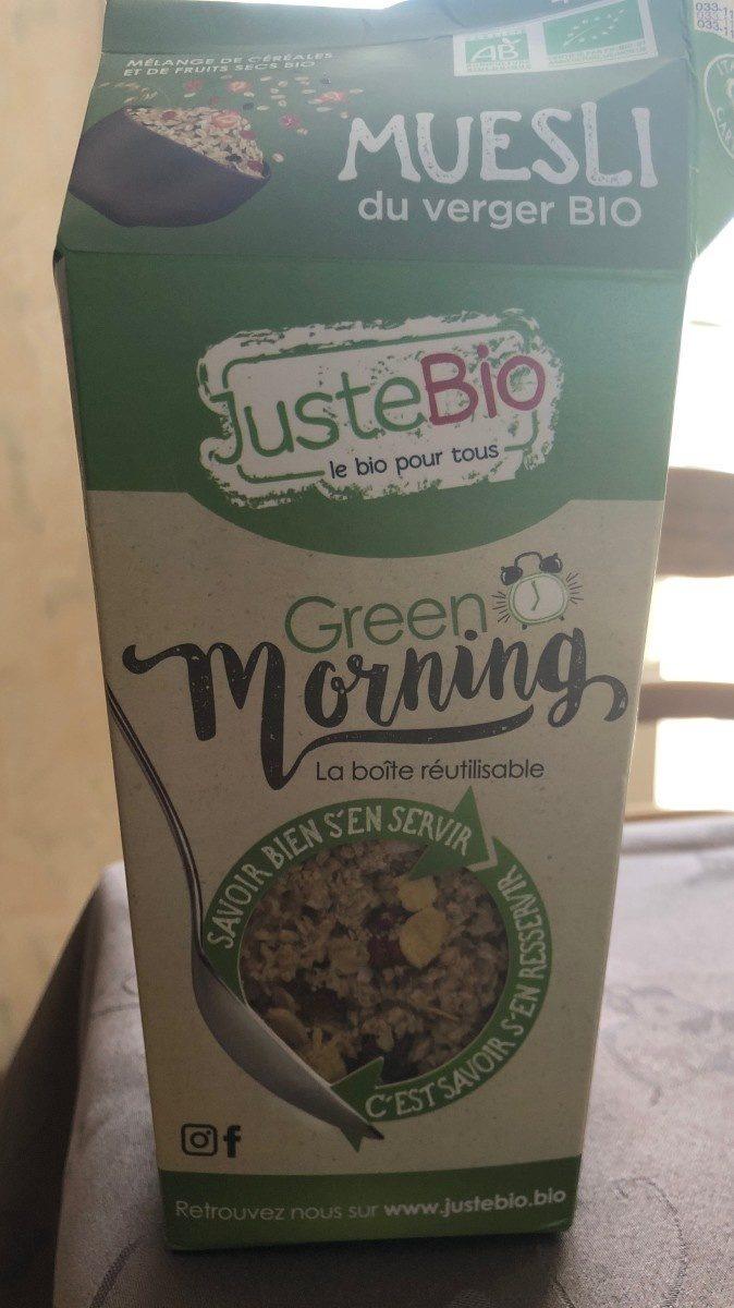 Muesli du verger BIO - GREEN MORNING - Produkt - fr