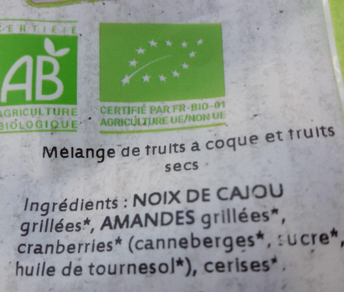 Mélange craquant - Ingrediënten