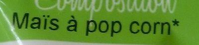 Maïs à Popcorn Bio - Ingrédients - fr