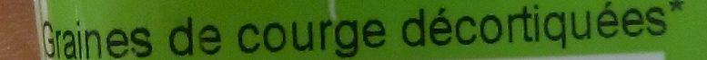 Graines de Courge Décortiquées Bio - Ingrédients