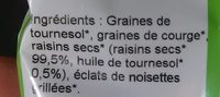 Mélange Salade Bio - Ingrédients