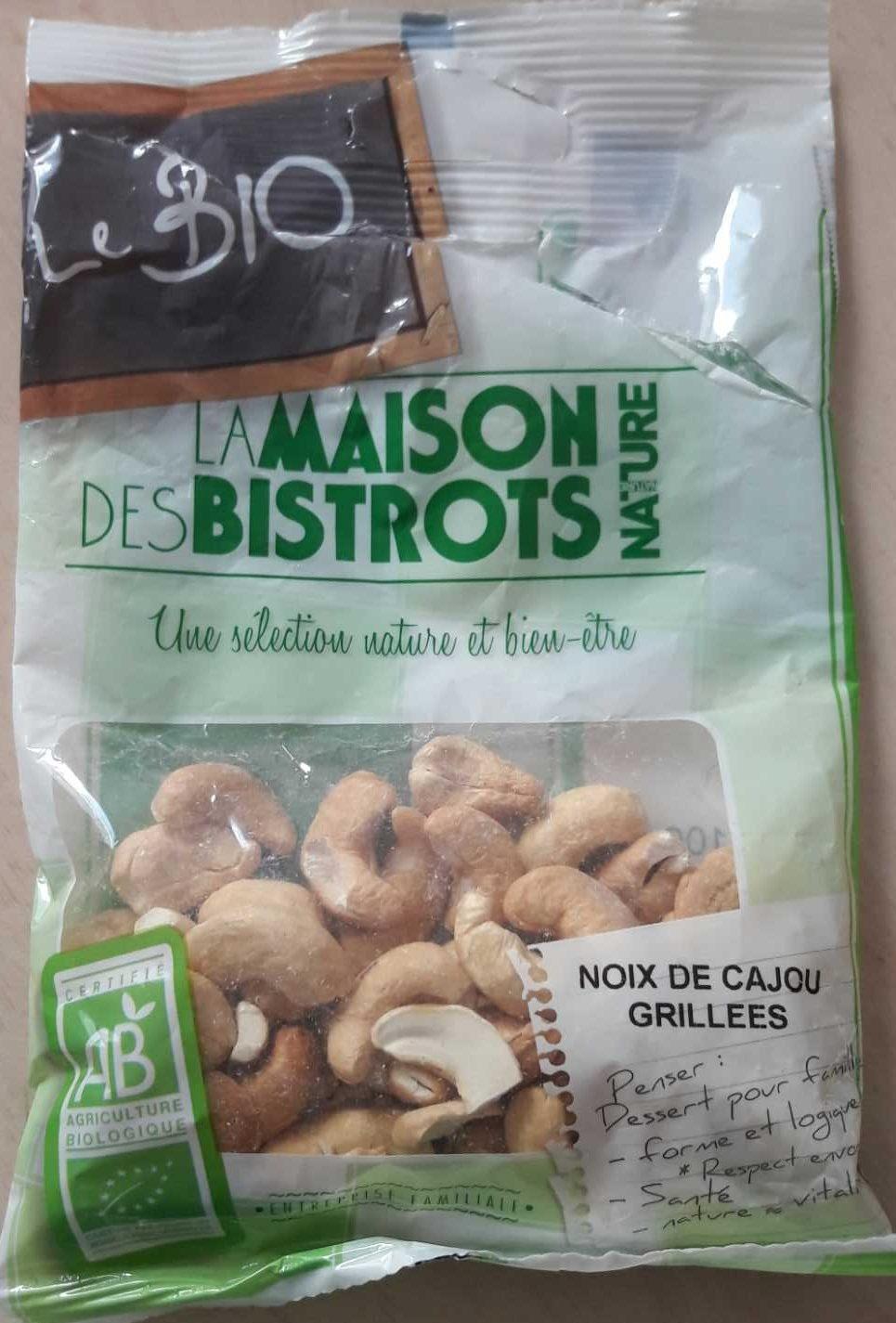 Noix de Cajou Grillées Bio - Produit - fr