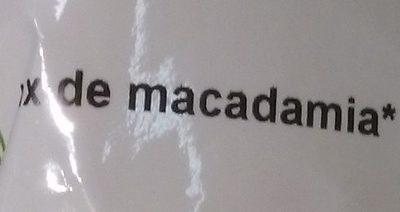 Noix de macadamia Bio - Ingrédients
