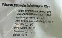 Entremet Café à Chaud - Nutrition facts - fr