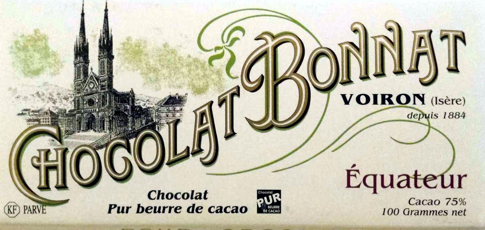 Chocolat Bonnat Equateur - Product - fr