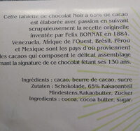 Surfin recette originale - Ingrédients - fr