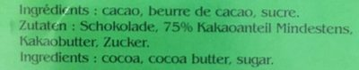 Cacao Cusco - Ingrédients - fr