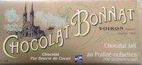 Chocolat lait au praliné noisettes - Product