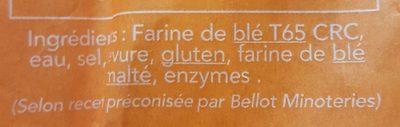 Baguette Marianne Tradition Française - Ingredienti - fr