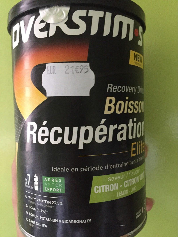 Boisson de recuperation - Product