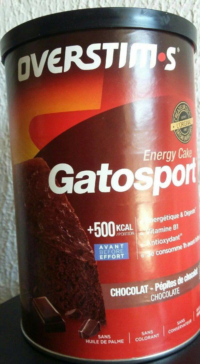 Gatosport Overstim's - chocolat - Product