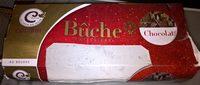 Bûche pâtissière, chocolat - Product