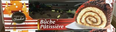 Bûche Pâtissière parfum Chocolat - Produit - fr
