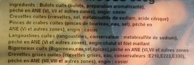 Le P'ti Mouss - Ingrediënten - fr