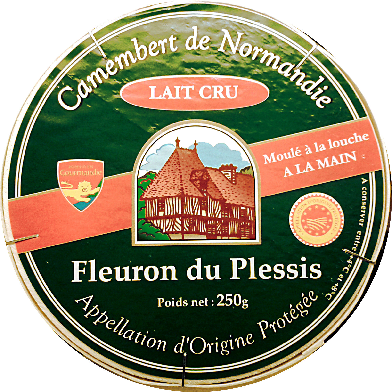 Camembert de Normandie AOP (20% MG) Lait cru - Product - fr