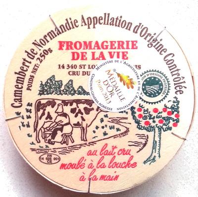 Camembert de Normandie AOP (20% MG) au lait cru - Product - fr
