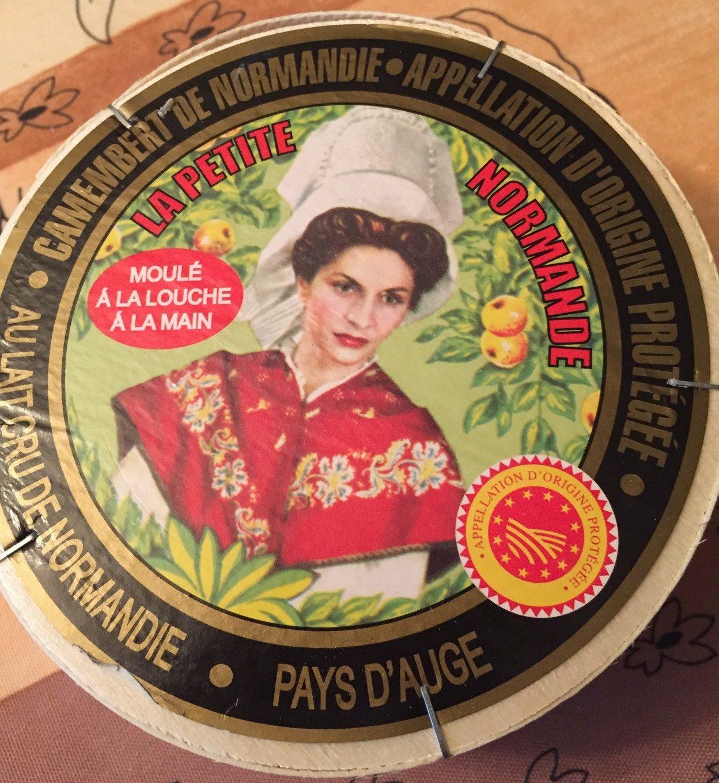 Camembert La petite Normandie AOP - Product - fr