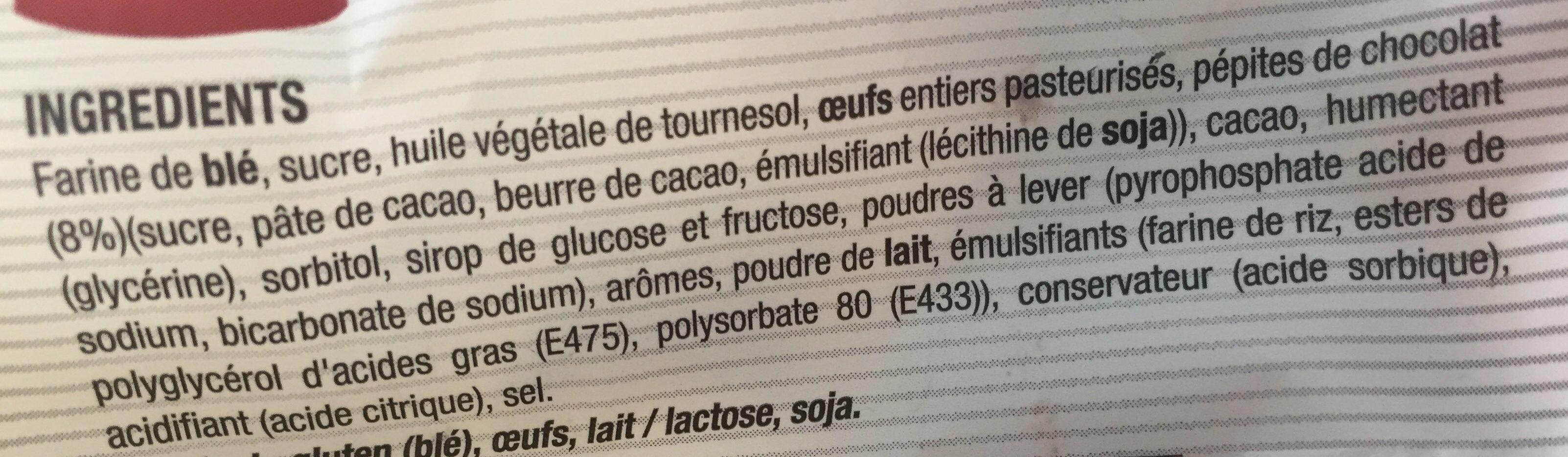 Muffin - Ingredients - fr