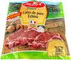 Côtes de porc échine - Product