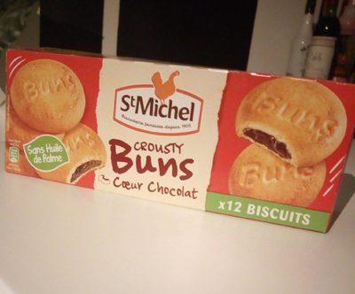 Crousty Buns cœur chocolat - Produit