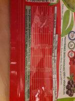 barre protéinée fruits rouges - Informations nutritionnelles