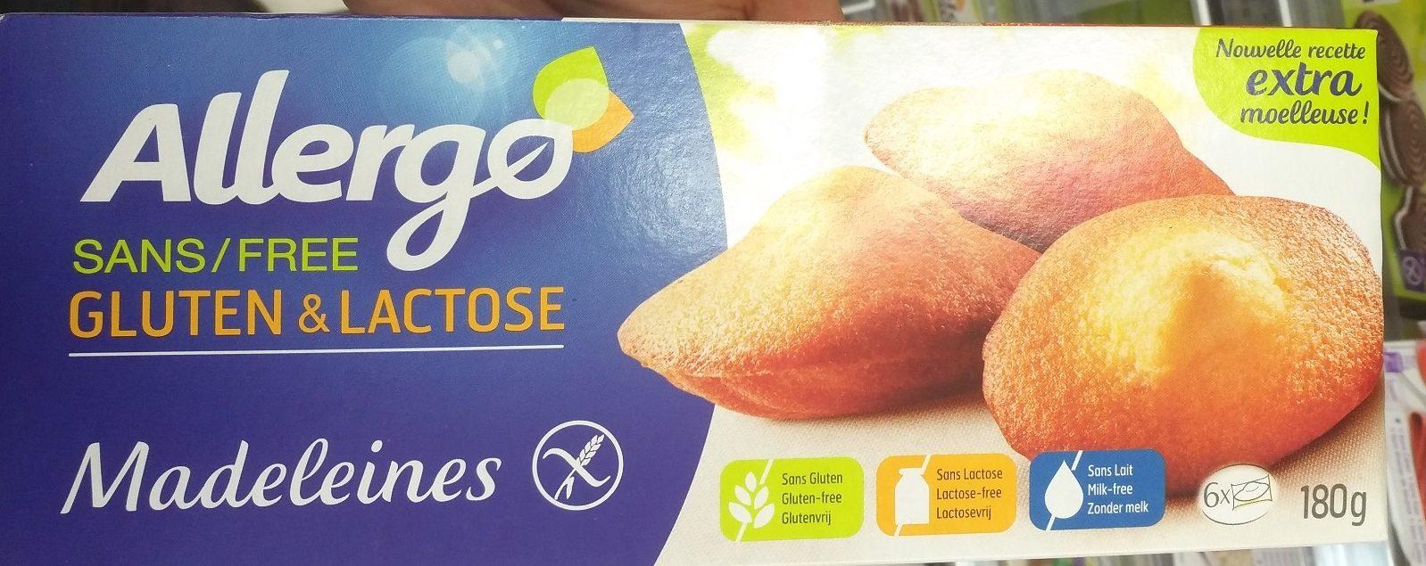 Madeleines type sans gluten - Product