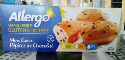 Allergo mini cakes pepites de chocolat - Product