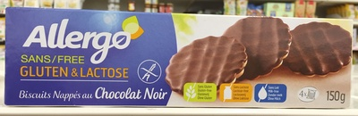 Biscuits nappés au chocolat noir - Product - fr