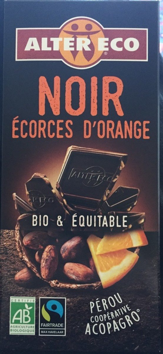 Noir écorces d'orange - Product