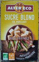 Sucre Blond en morceaux - Produit - fr